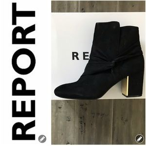 NWT REPORT Black Boots
